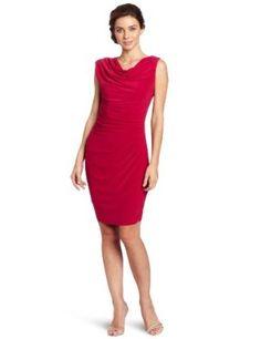 Adrianna Papell Women's Draped Jersey Dress