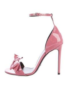 #The RealReal - #Gucci Gucci Bow Patent Leather Sandals - AdoreWe.com