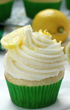 Light and Lovely Lemon Cupcakes with Lemon Buttercream