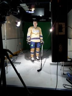 Notre Dame Hockey uniform