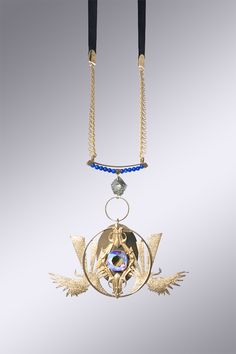 Nanjiyraa Necklace by La Fiancée du Facteur (2016) // French Jewlery Design