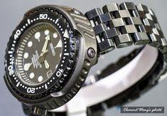 Clemiko Timepiece Online: SEIKO SBDX011 改裝DLC 64鈦合金外殼 + 五格黑鋼帶 + 64鈦合金螺絲 Mindset Quotes, Seiko Watches, Bracelet Watch, Bracelets, Accessories, Style, Fashion, Swag, Moda