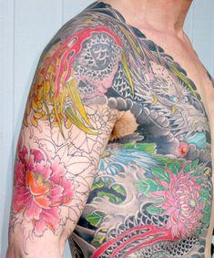 horiyoshi III : chrysanthemums and peonies