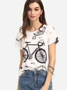 Cute Vintage-Inspired Graphic Tee