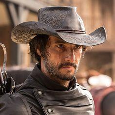 Rodrigo Santoro as Hector Escaton in  WESTWORLD on HBO (2016)