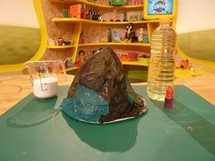 diy vulkan basteln mit kids ideen pinterest. Black Bedroom Furniture Sets. Home Design Ideas