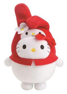 Bubbly Day Hello Kitty My Melody plush toy at McDonald's Hong Kong