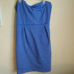 Strapless bodycon Old Navy form fitting knee length dress Old Navy Dresses