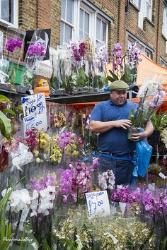Columbia Road Flower Market London  http://parafernaliablog.com/2016/01/londres-columbia-road-flower-market/