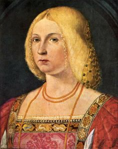 Portrait of a Lady about 1510-25, Italian, Venetian National Gallery London