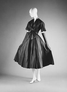Vintage Dior silk, 1952