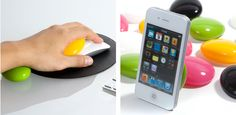 Smart Pebbles - prop up your tech! {and save your wrist}  I need this