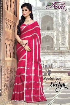 Looking for latest designer party wear sarees or traditional party wear sarees? Shop online from the party saree collection at Utsav Fashion for fancy party sarees. Party Wear Sarees Online, Party Sarees, Silk Sarees Online, Saree Collection, Cotton Saree, Saree Blouse, Indian Dresses, Blouse Designs, Bodycon Dress