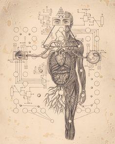 Soul Of Science - Art Book by Daniel Martin Diaz