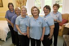 A few of the wonderful nurses that make up the Rosemary Foundation team.