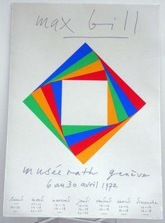 Max Bill - Die Farbe 1944 | Midcenturia | Pinterest | Max Bill and Photos