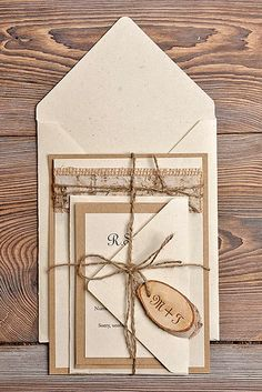 18 Rustic Wedding Invitations To Impress Your Guests ❤ See more: http://www.weddingforward.com/rustic-wedding-invitations/ #weddings #invitations