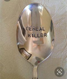 Cereal Killer, Bad Puns, Tableware, Block Prints, Dinnerware, Tablewares, Dishes, Place Settings
