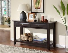 Tellenson Transitional Sofa Table