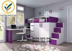 cac-kieu-giuong-tang-go-cong-nghiep-giuong-tang-dep-cho-be-gai Home Room Design, Kids Room Design, Bed Design, Warm Bedroom, Small Room Bedroom, Bedroom Decor, Diy Childrens Beds, Loft Bed Plans, Bunk Bed With Desk