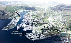 karres+brands builds temporary park in Fosnavåg, Norway Master Plan, Urban Planning, Landscape Design, Landscape Architecture, Urban Design, West Coast, Norway, Perspective, City Photo