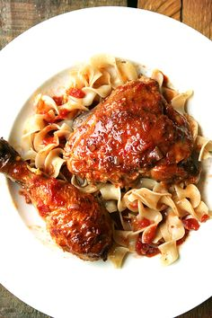 kitchen chicken au vinaigre chicken with sherry vinegar sauce chicken ...