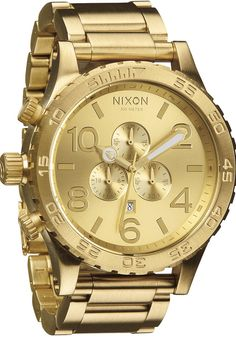 Reloj NIXON 51-30 CHRONO ALL GOLD