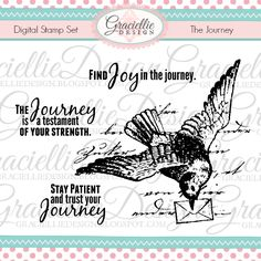 The Journey - Digital Stamp Set by Graciellie Design / April 2016 Release