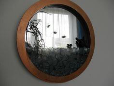 suculent a zrkadlo
