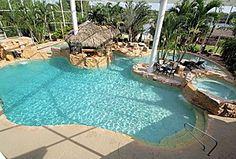 Great Tropical Swimming Pool