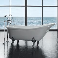 "Found it at Wayfair - Clawfoot 66' x 28"" Acrylic Slipper Tub"