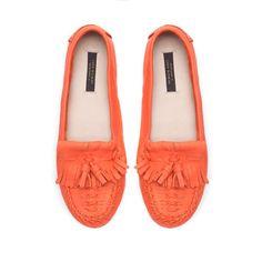 MOCASÍN BLANDO - Zapatos - Mujer - ZARA México