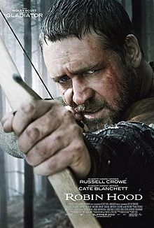 Robin Hood (2010 film)  The most recent reincarnation of the legend.  Too old and too serious for my taste.  I like my Robin Hood with a little more cheek and wit.