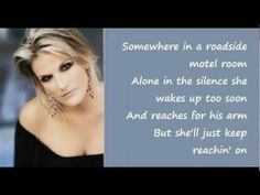 I had forgotten how much Mom and I loved this song back in the day... Walkaway Joe by Trisha Yearwood