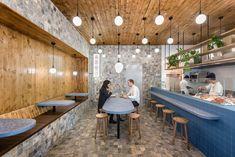 Smallfry Adelaide Fish Shop designed by Sans-Arc Studio