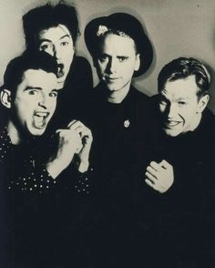 Depeche Mode - I love how Martin Gore is the chill one.