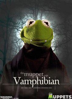 The Muppets Poster / Kermit / Vamphibian