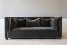ILSE SOFA | STUDIOILSE The Ilse Sofa is made by historic British furniture makers George Smith. The height and depth of the seat, arms and back have each been calculated and tested to ensure that the sofa supports as many sedentary habits as modern life contains. We like to think of it as a room within a room. The Ilse Sofa is shown here upholstered in Maharam's extreme mohair chosen for a particularly tactile experience.
