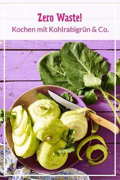 Bloß nicht wegwerfen: Wir erklären, welches Gemüsegrün du bedenkenlos essen kannst und geben tolle Rezept-Ideen. #zerowaste #nachhaltigkochen