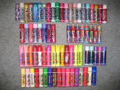 Yeah, my Lip Smacker collection looked more like this one..... hehe