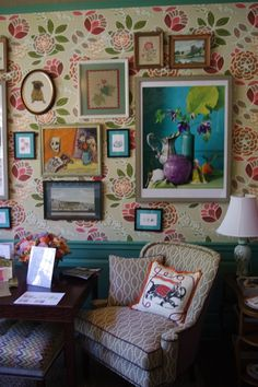 Adamsleigh / The Junior League of Greensboro Showhouse / The English Room Blog