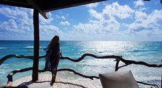✨Never let your memories be greater than your dreams✨ #Azulik #Dream #Memory #Blue #Sea #Caribbean #Good #Morning #ReconnectionSanctuary #Tulum #Mexico #Eco #Resort #Travel #AzulikLuxurySeaVilla #Holiday #Vacation #RePost @refaeli_maarek