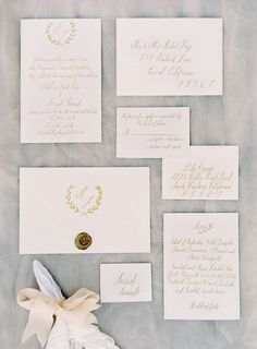 Soft and Elegant Wedding Inspiration via oncewed.com