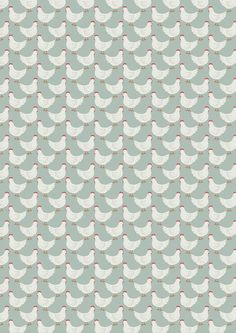 Lewis & Irene Fabric - Little Hens