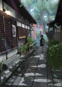 New Drawing Ilustration Animal Anime Art Ideas Wallpaper Animes, Anime Scenery Wallpaper, Animes Wallpapers, Anime In, Anime Art Girl, Anime Girls, Graphisches Design, Design Blog, Miyazaki