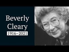 "Beverly Cleary, award-winning author known for her ""Ramona"" and ""Henry Huggins"" series, died Thursday in Carmel, California at the age of 104. Henry Huggins, Beverly Cleary, Carmel California, Cherished Memories, Looking Back, Thursday, Death, Author, Age"