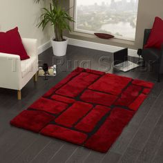 Noble house rugs 1275 red