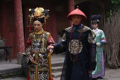 甄嬛传 Empresses In The Palace, Qing Dynasty, Hanfu, Asian Fashion, Traditional Outfits, Captain Hat, Chinese, Sari, Costumes