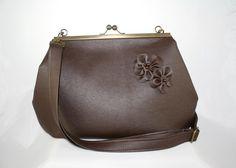 Kabelky - taška Ema čokoládovohnedá