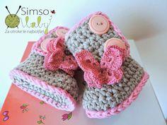 Simso-Baby: Simpatični škorenjčki na gumbke
